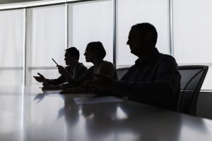 people in board room